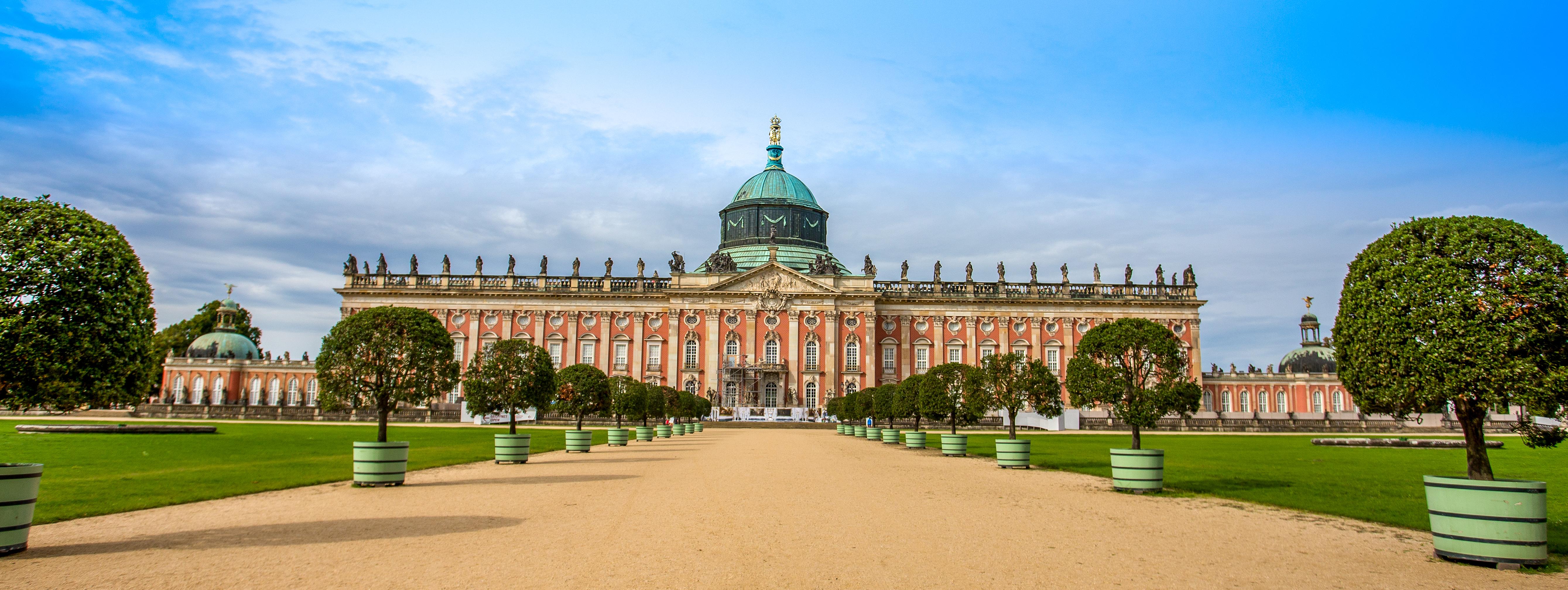 Дворецът Сансуси | Чудесата на Европа